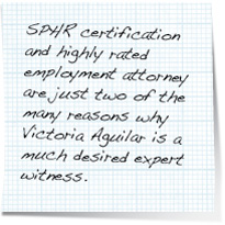 expert witness service note