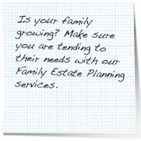 family estate planning note