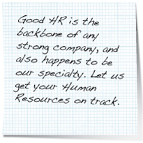 hr consulting note