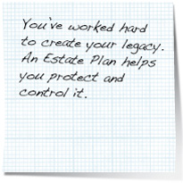 trust estate planning note